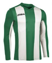 JOMA Pisa V Jersey - Green / White (Long Sleeve)